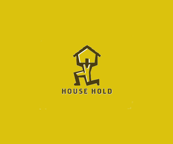 House Hold Construction Logo For Free
