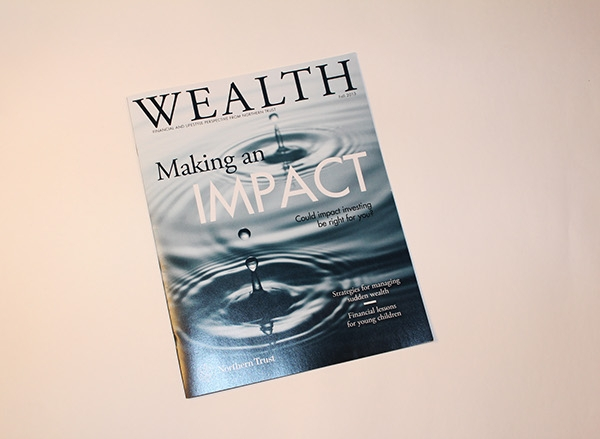 Indesign Financial Magazine Layout