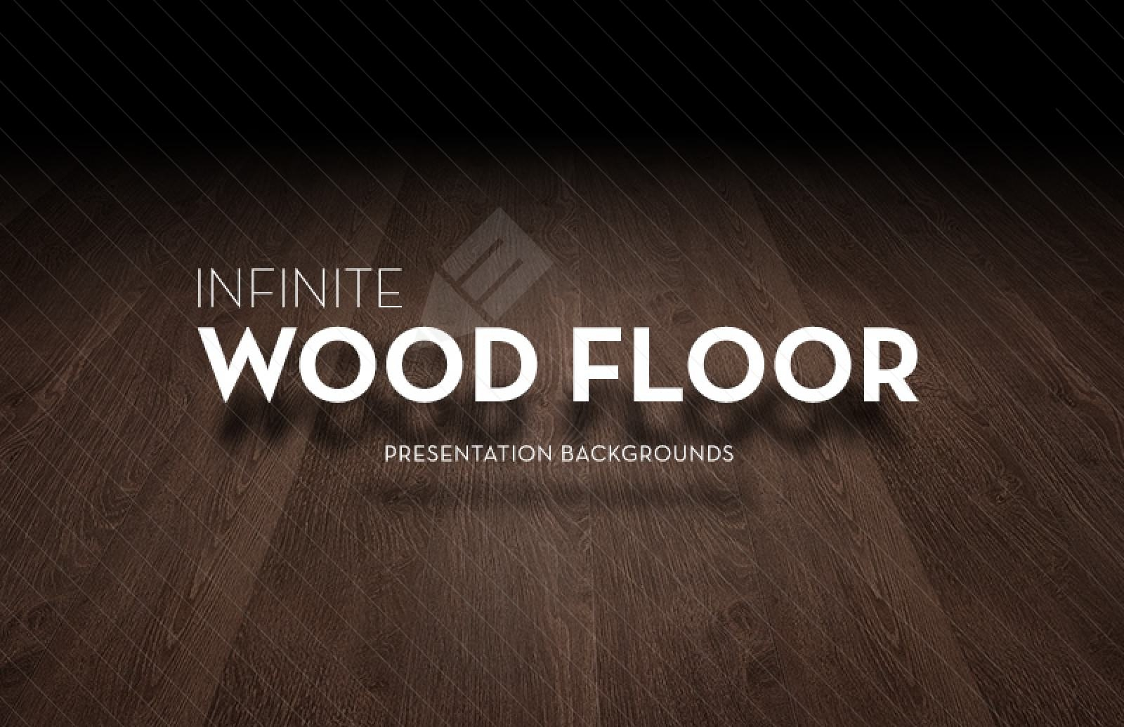 Infinite Wooden Floor Presentation Backgrounds