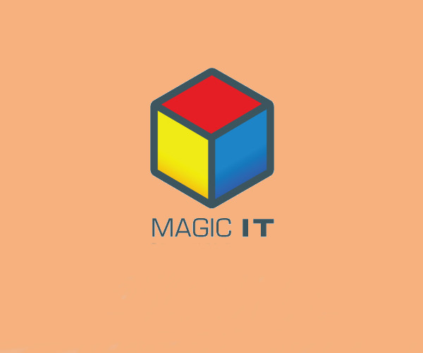 Isometric Magic IT Logo For Free