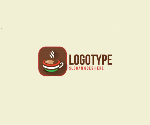 Italian Coffee Logo Design