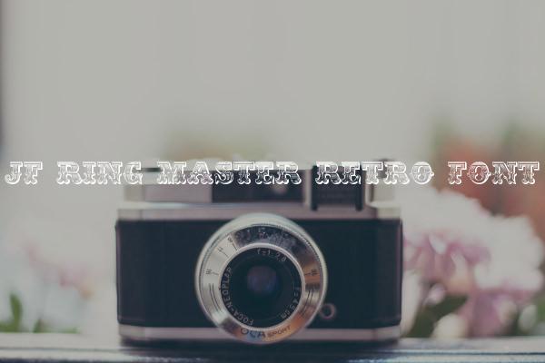 JF Ring Master Retro Font