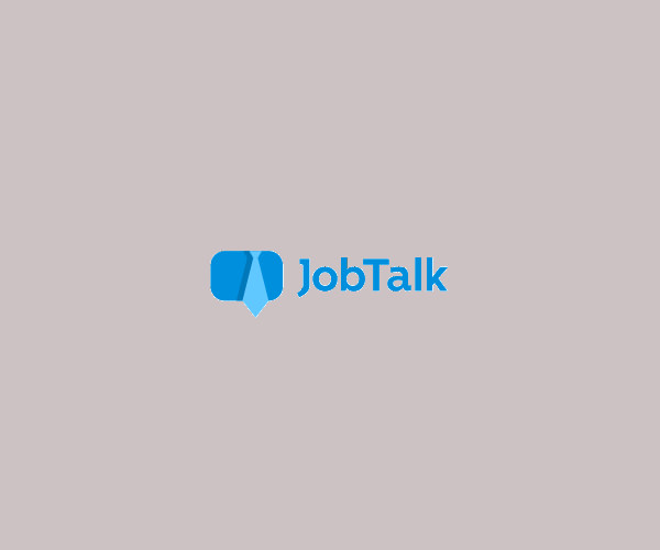Job Talk Logo Design For Free