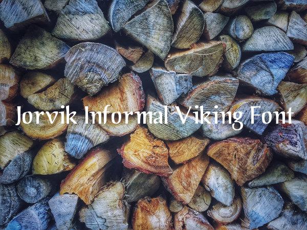 Jorvik Informal Viking Font