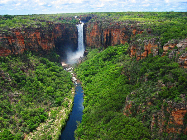 Kakadu Waterfall Wallpaper Australia