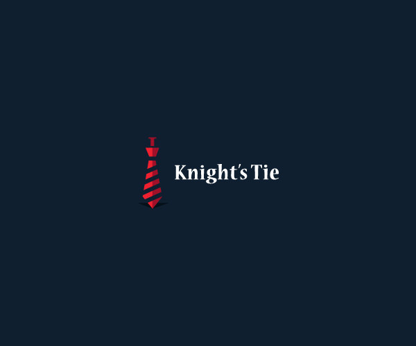 Knights Tie Logo Design For Free