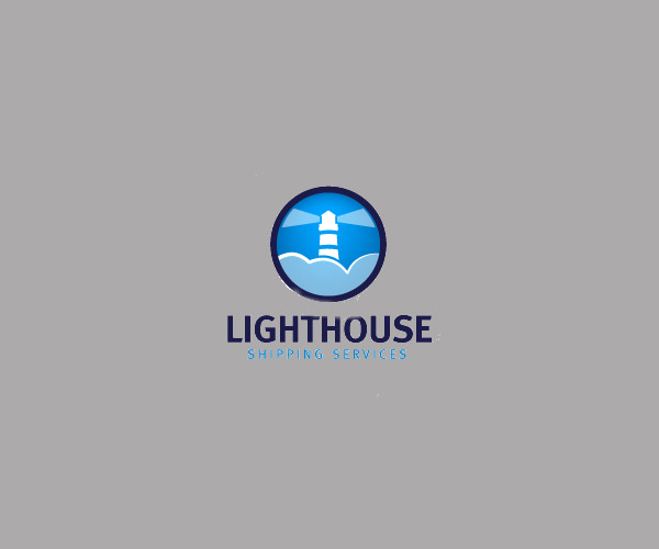 Light House Shipping Logo For Free