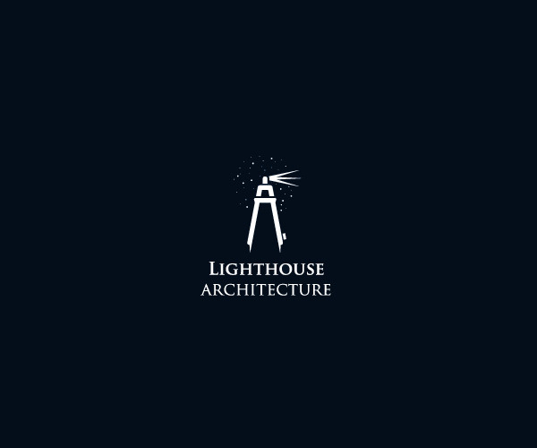Light house Architecture Logo Design For Free