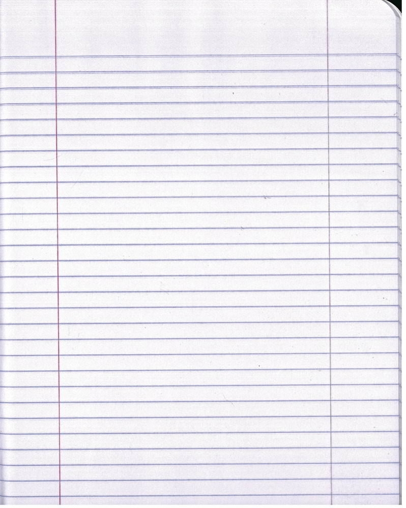 Lined Paper Background For Free