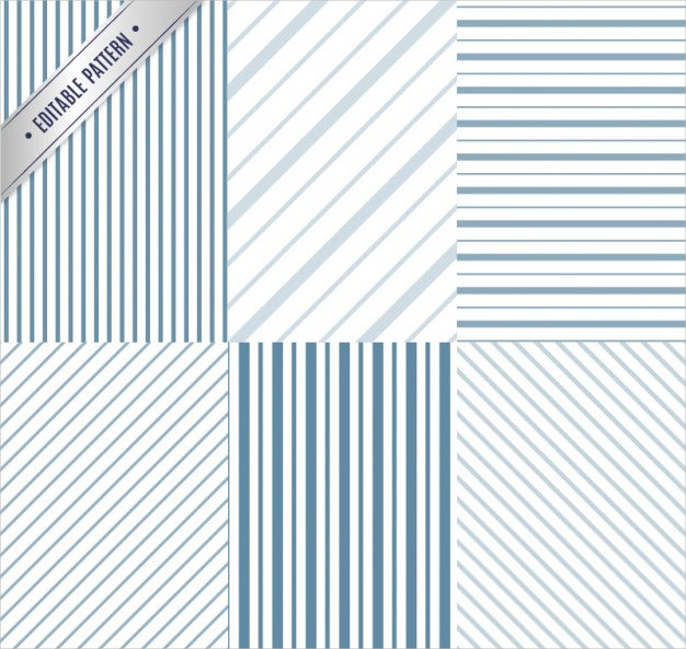 Lined Patterns Free Vector Download