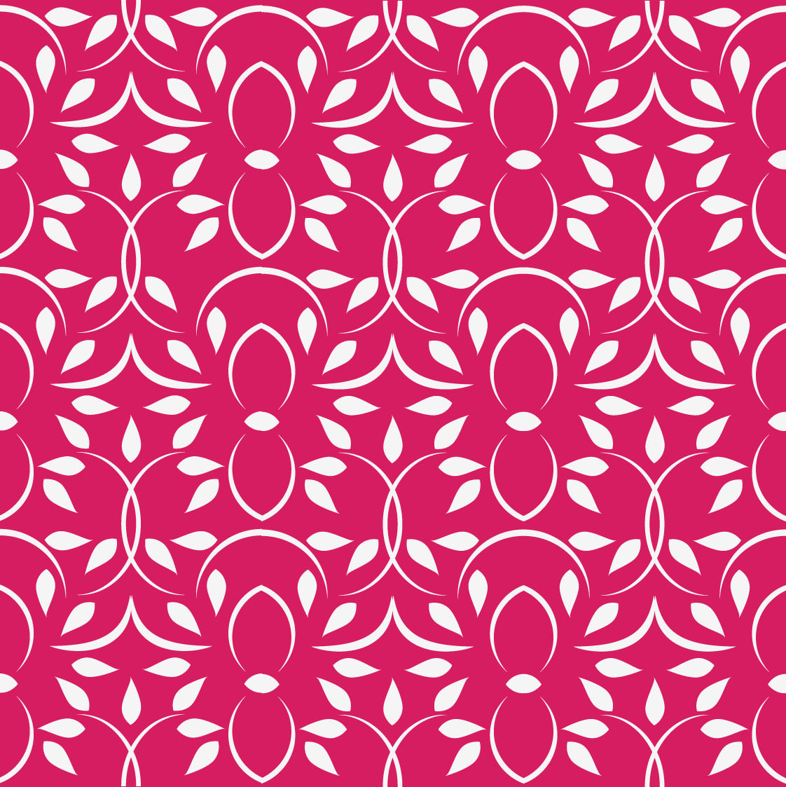 lovely pink floral vector pattern wallpaper1