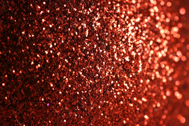 Lovely Red Glitter Background Wallpaper