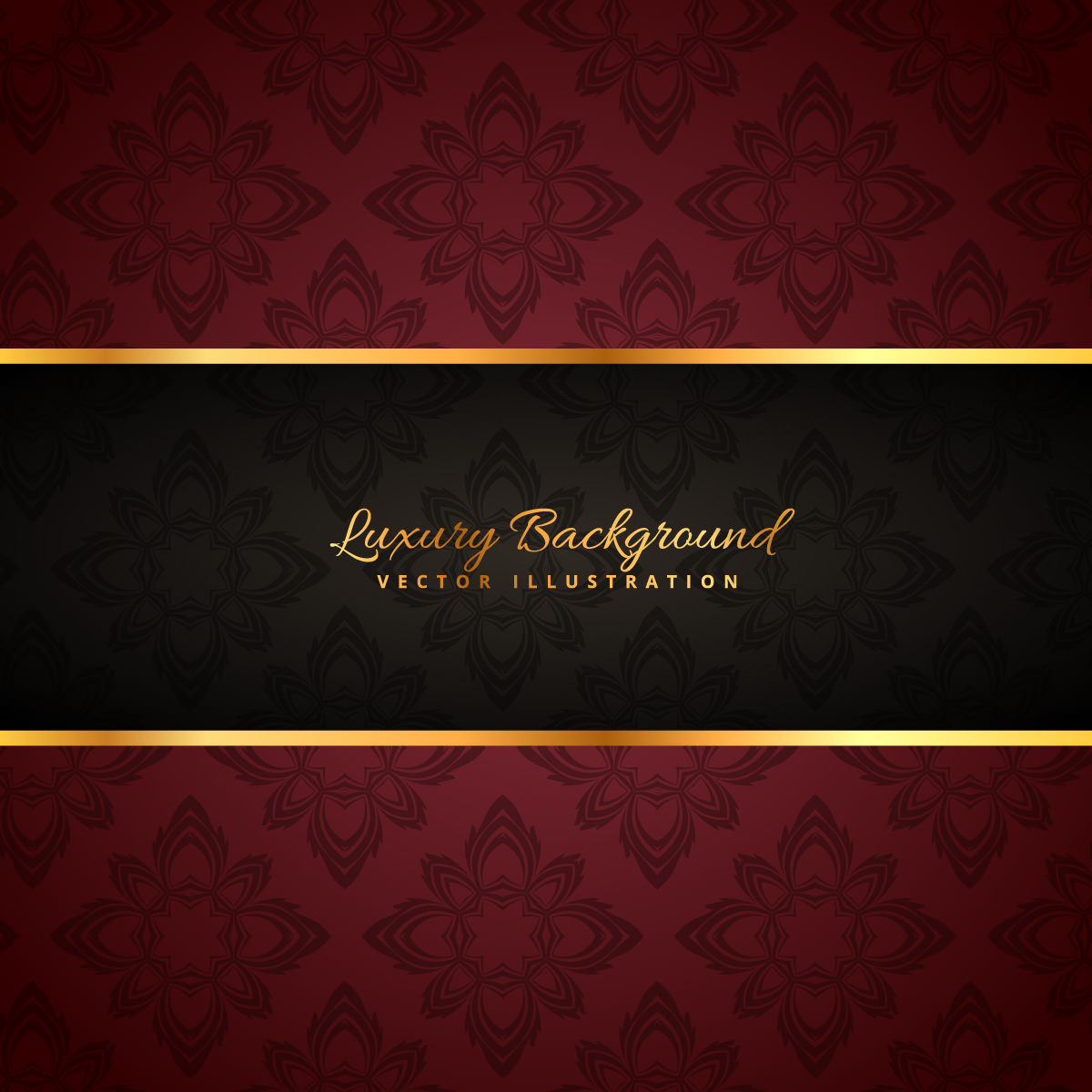Luxury Black and Red Background