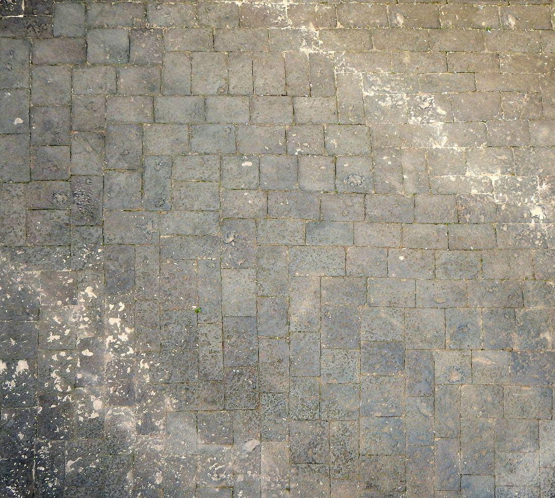 Medieval Black Lava Concrete Texture