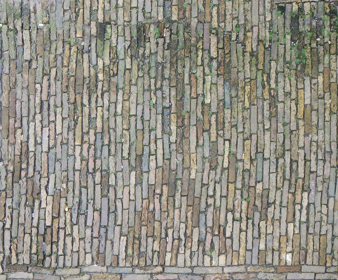 Messy Bricks Medieval Floor Texture