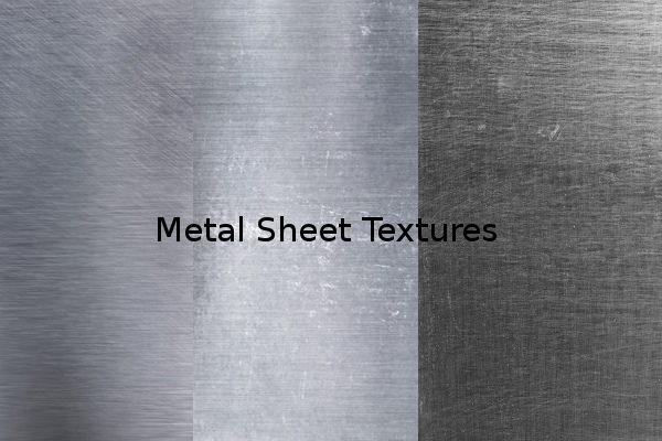 Metal Sheet Textures