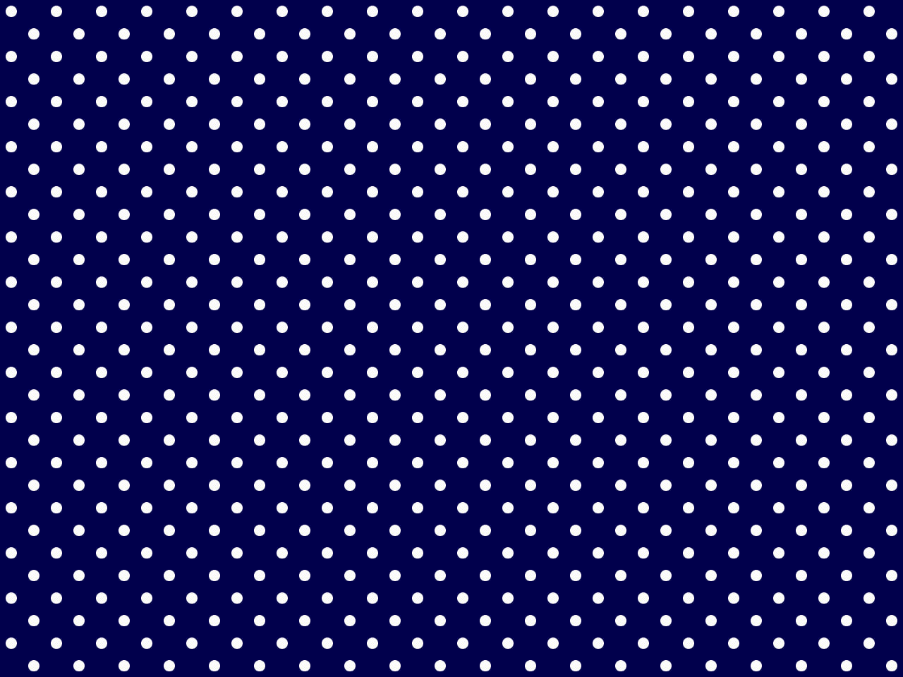 Midnight Blue Polka Dotted Background