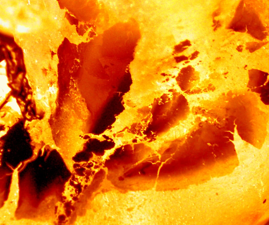 Molten Yellow Lava Textures