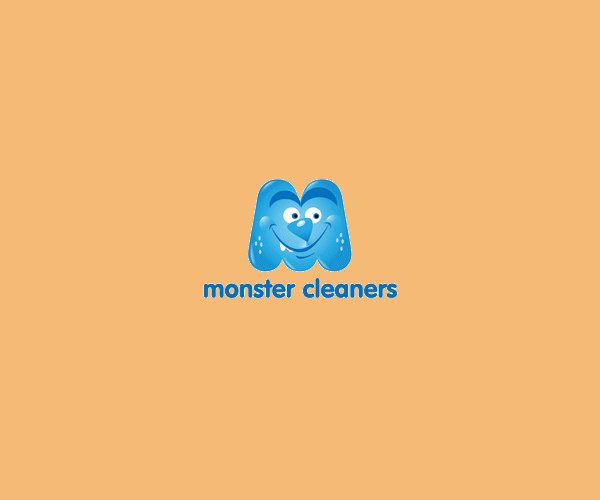 Monster Cleaning Service Logo For Free
