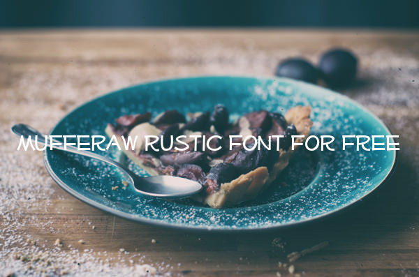 Mufferaw Rustic Font For Free