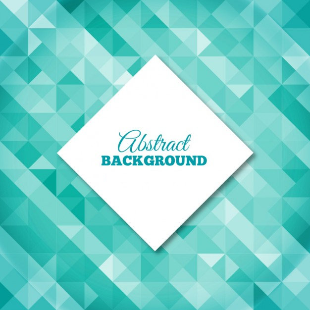Multi Polygonal Background in Turquoise Tones