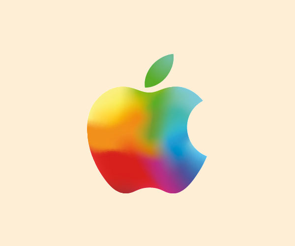 Multicolor Apple Logo Design For Free