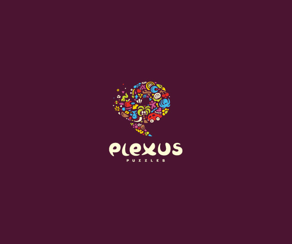 Multicolor Puzzles Logo Design For Free