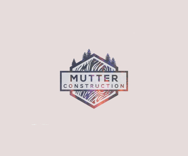 Mutter Construction Logo For Free