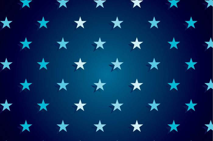 Navy Blue Star Background Vector For Free