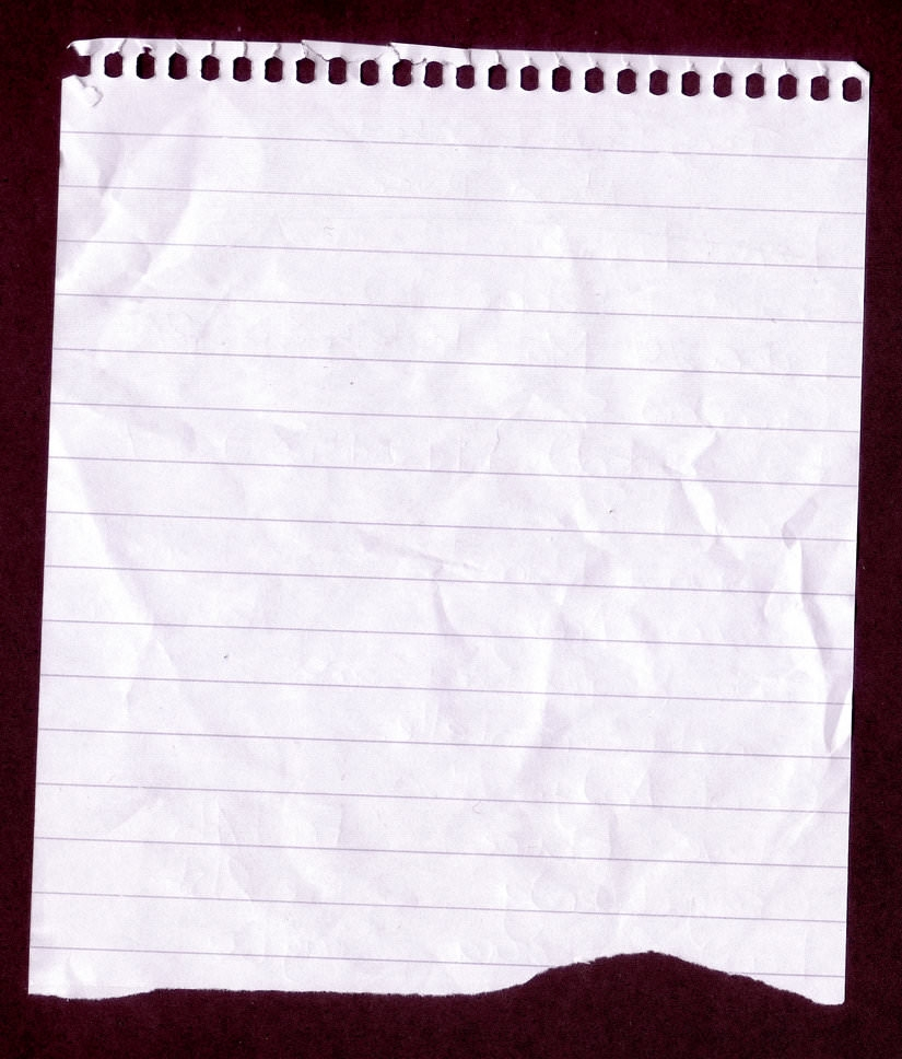 Note Lined Paper Background For Free