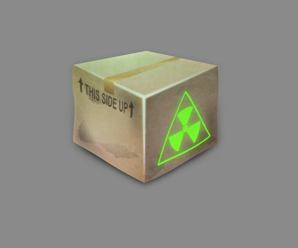 Nuclear Box Logo For Free