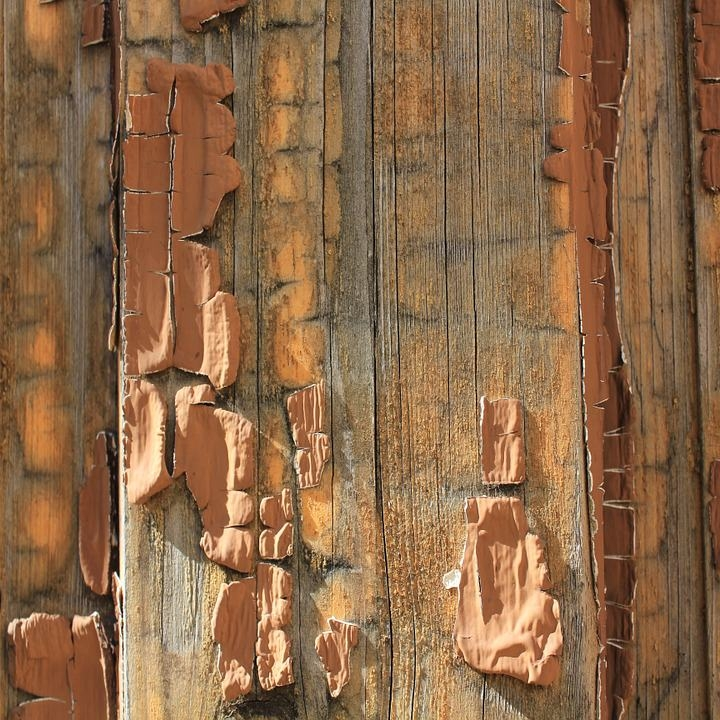 Old Peeled Wood Textures For Free