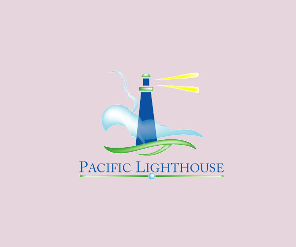Pacific Light House Logo For Free