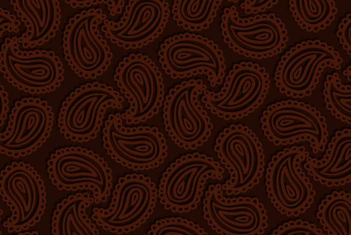 Paisley Brown Pattern For Download