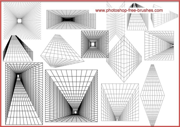Perspective Grid Brushes