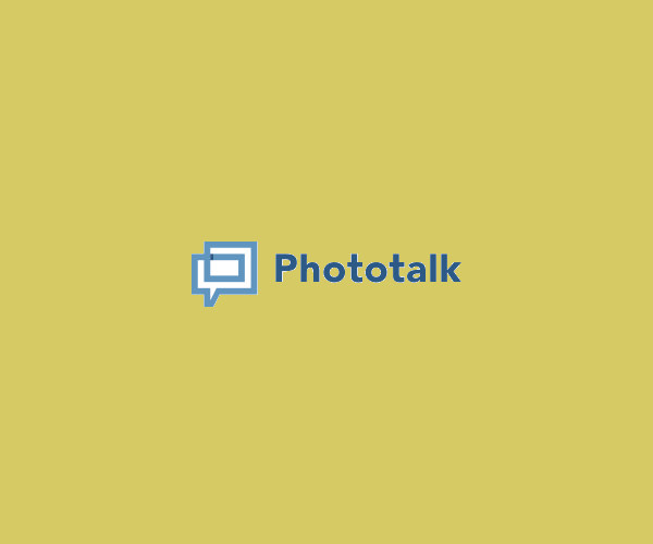 Photo Talk Logo Design For Free