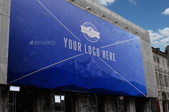 Photorealistic Billboard Banner Mock-Ups