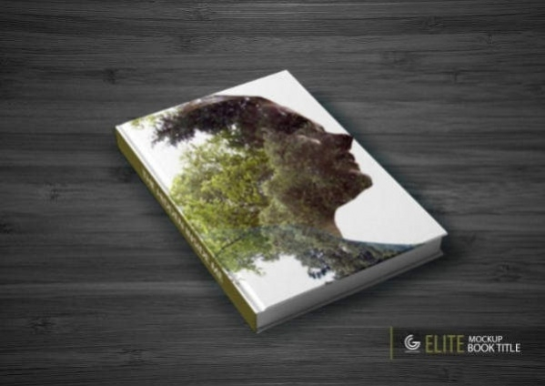 Photorealistic Elite Book Tile Mockup