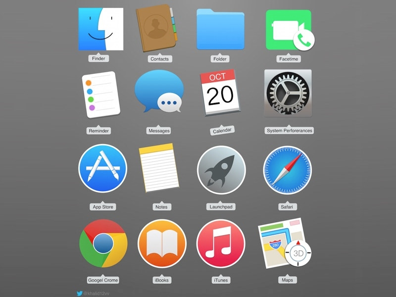Photorealistic Free Mac Icons Download