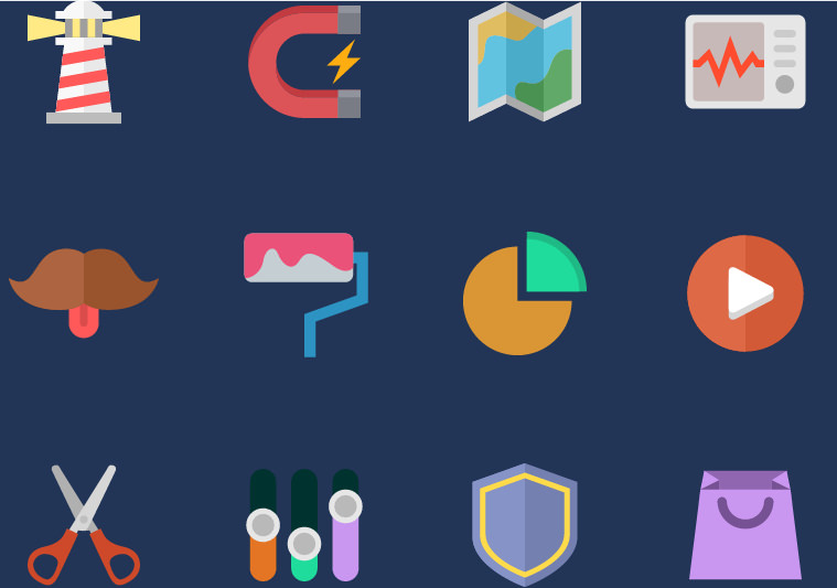 Photoshop Free Animated icons