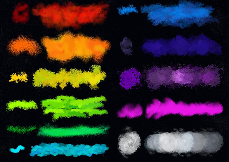 Photoshop Free Texture Brushes