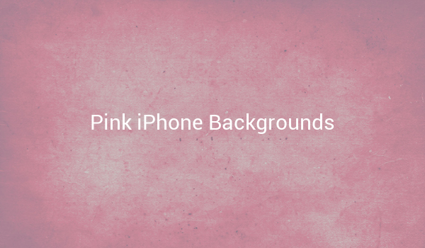 Pink iPhone Backgrounds