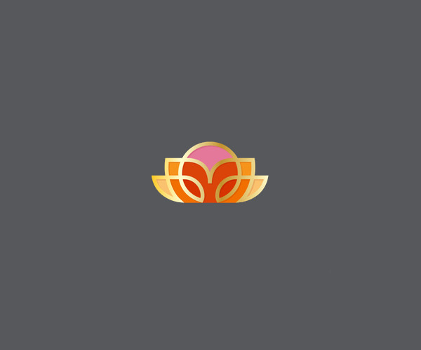 Plant And Sun Logo Design For Free