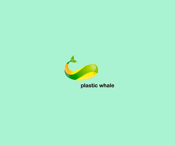 Plastic Whale Logo Design For Free