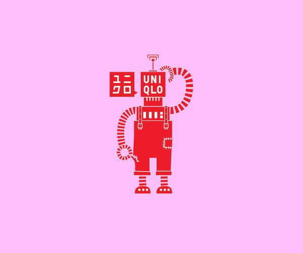 Poor Robot Logo Design For Free