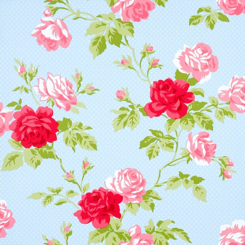 Seamless floral wallpapers floral patterns freecreatives pretty floral wallpaper mightylinksfo
