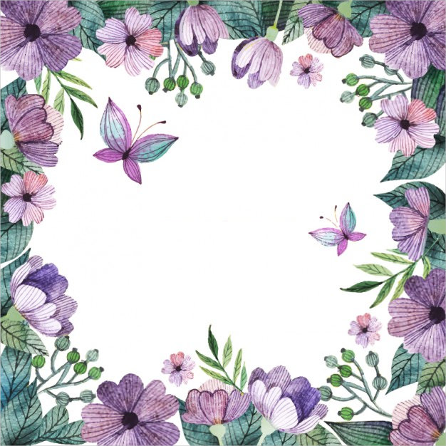 20+ Purple Flower Backgrounds