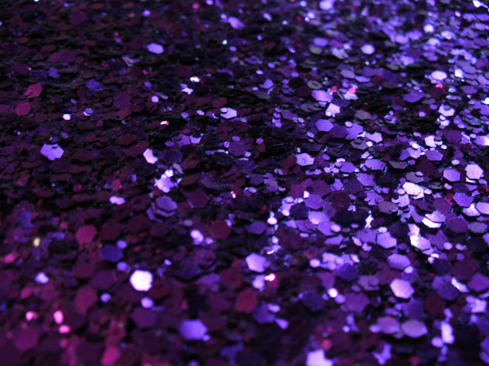 Purple Glitter Desktop Wallpaper