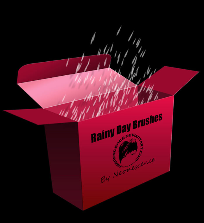 Rain Day Brushes Box