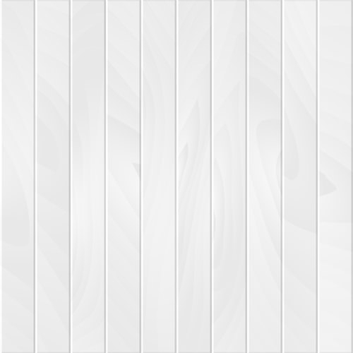 Realistic White Wood Plank Background
